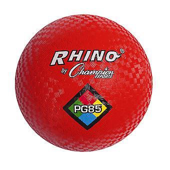 "Spielplatzball, 8-1/2"", Rot"