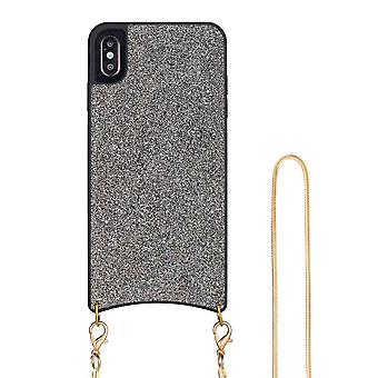 H-basics phone chain for Apple iPhone X / XS necklace case cover