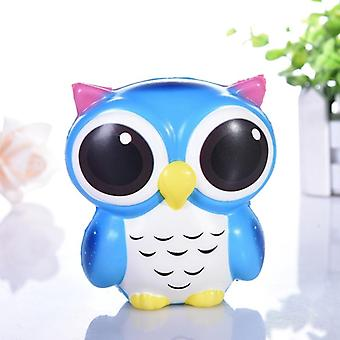 Adorable Owl Squishy, Slow Rising, Cartoon Doll Cream Scented, Stress Relief
