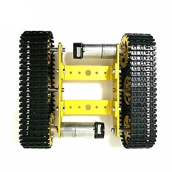 Metall Tank Modell Roboter Tracked Auto