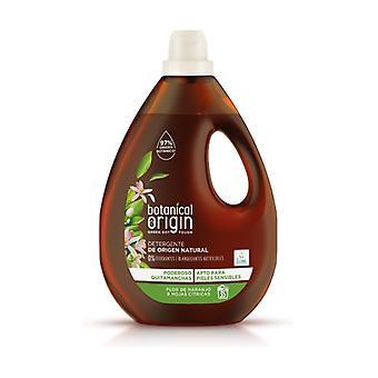 Liquid Organic Laundry Detergent Orange blossom and citrus leaves Fragrance 35 doses 1,58 L