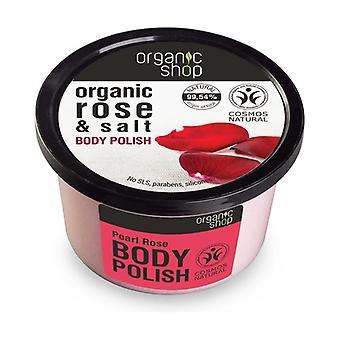 Organic Rose and Salt Body Polish 250 ml