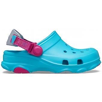 Crocs 207011 Classic All-terrain Kids Clogs Digital Aqua