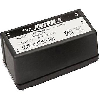TDK-Lambda KWS-15A-12 AC/DC PSU (print) 12 V 1.3 A 15.6 W
