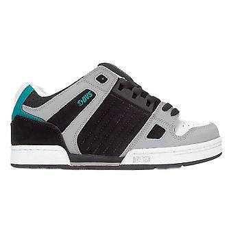 DVS Celsius Shoes - Black / Charcoal / White Turq Nubuck