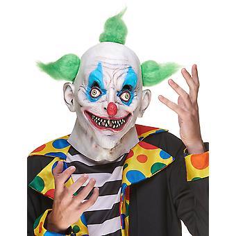Masque latex clown terrifiant adulte