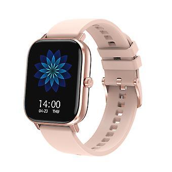 Smart Watch für unisex Ecg Ppg Hrv Herzfrequenz Bluetooth Anruf IP67 Sauerstoffdruck für Android IOS-Pink
