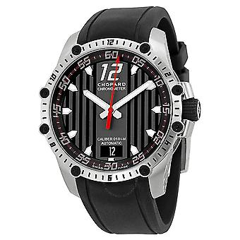 Chopard Classic Racing Superfast Automatic Black Dial Black Rubber Strap Men's Watch 168536-3001 RBK