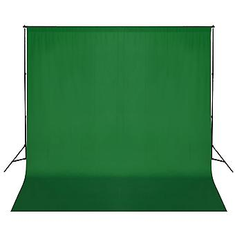 vidaXL صورة خلفية نظام 600 × 300 سم الأخضر