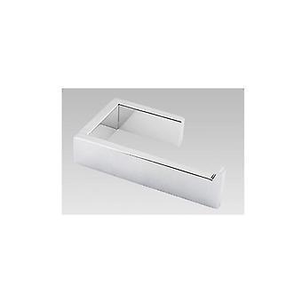 Uchwyt na papier toaletowy z chromowanego papieru ze stali nierdzewnej