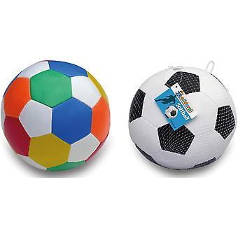 FengChun 60305 Softball 10 cm, 1 Fuball 1 Ball, Softfuball aus Schaumstoff, Kinderball fr Drinnen