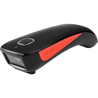 FengChun C990 Bluetooth 2D QR Barcode Scanner Wireless kompatibel, kleine Tasche USB 1D 2D QR Code