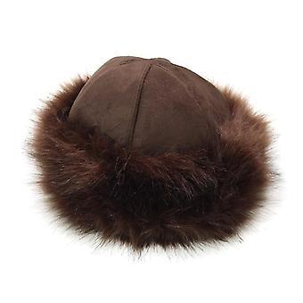Новая шляпа для дам, бомбардировщик шляпа, ветрозащитные женщины меховая шляпа