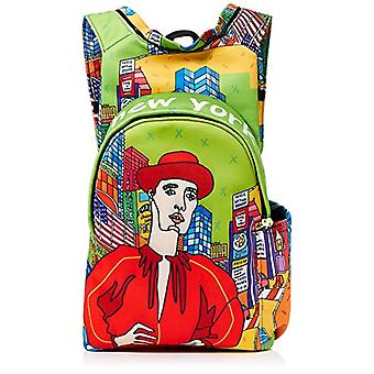 MorikukkoMorikukko Hooded Backpack NyUnisex - AdultZainiMulticolore (Ny)33x8x40 Centimeters (W x H x L)