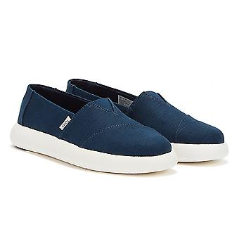 TOMS Alpargata Mallow Womens Dark Blue Shoes