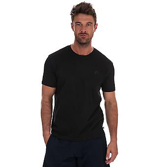 Men's Russell Athletic Crew Neck T-Shirt in Black