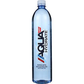 Aqua Hydrate Water Aqua Hydrate, Case of 12 X 1 Liter