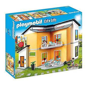 Playset City Live Modern House Playmobil 9266