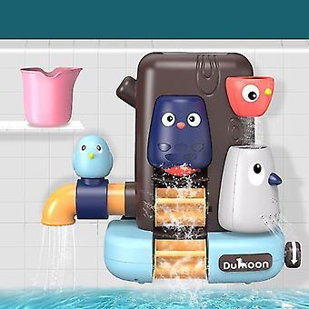 Λουτρό παιχνίδια αγωγό νερό ψεκασμού ντους παιχνίδι ελέφαντα μπάνιο μωρό παιχνίδι για τα παιδιά κολύμβηση μπάνιο