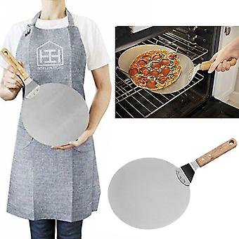 Durable Pizza Paddle Stainless Steel Blade Quality Pizza Spatula For Oven Pizza Shovel Pastry Baking
