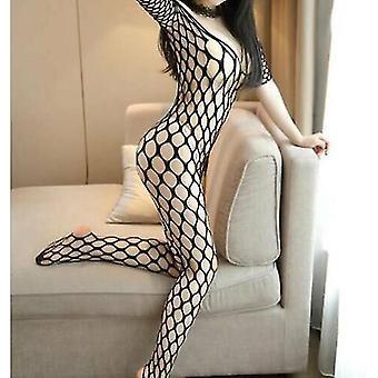 Sexy Body Stocking Body Crotchless Dessous Unterwäsche Babydoll Fishnet