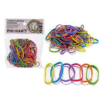 Elásticos de goma multicolor
