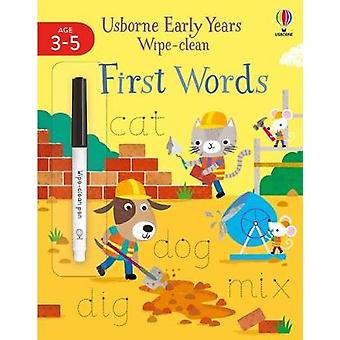 Early Years Wipe-Clean First Words