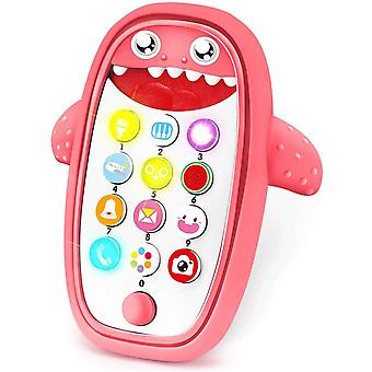 Baby Cell Phone Toy With Teething Music And Game Smartphone Toy