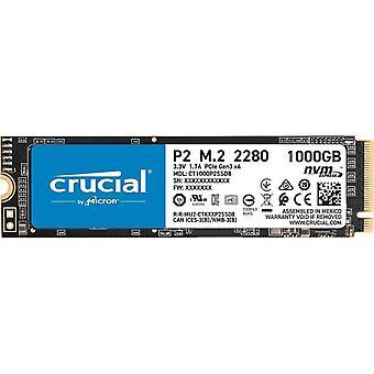 Avgörande P2 1TB M.2 2280 PCI-e 3.0 NVMe Solid State Drive
