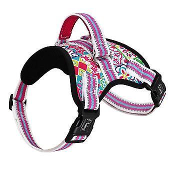 Soft padded reflective dog harness