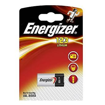 Akkumulátorok Energizer lítium fotó EL123 (1 db)
