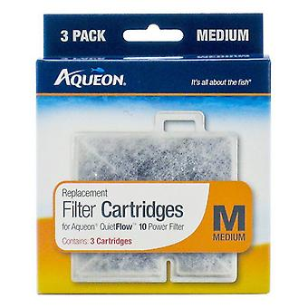 Aqueon QuietFlow Replacement Filter Cartridge - Medium (3 Pack)
