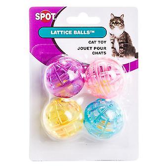 Spot Spotnips Lattice Balls Cat Toys - 4 Pack