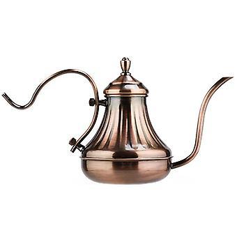 Gooseneck Kaffekanna Lång pip Häll över dropp kaffe vattenkokare kaffebryggare tekanna kruka| Kaffekanna