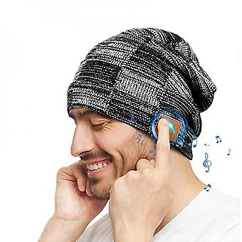 Winter Bluetooth Hat Headset Stereo Sports Music Headset Wireless Hands-free Headset Usb Charging Cable Knitted Hat