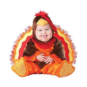 Lil' Gobbler Turchia Natale animale Deluxe Toddler Boys ragazze Costume