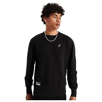 Superdry Code Essential Crew Crew Sweatshirt Noir