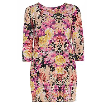 Rose Floral Satin regarde Top TP416-XL