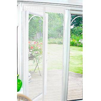 Country Club Insekt Guard magnetische Tür Bildschirm 90 x 210cm, weiß