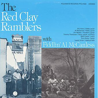 Red Clay Ramblers con Fiddlin'Al McCanless - Red Clay Ramblers con importazione USA Fiddlin'Al McCanless [CD]