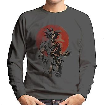 Stigende Saiyan Son Goku Dragon Ball Super mænds Sweatshirt