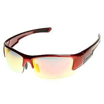 Shatterproof TR90 halv ramme ekstrem sport solbriller