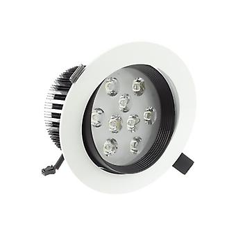 Я LumoS высокого качества Epistar 9 ватт черный & белый светодиодные светильники