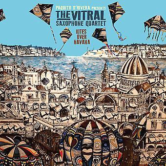 Vitral Saxophone Quartet - drakar över Havanna [CD] USA import