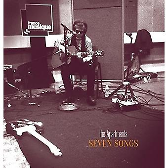 Apartments - Seven Songs [CD] USA import