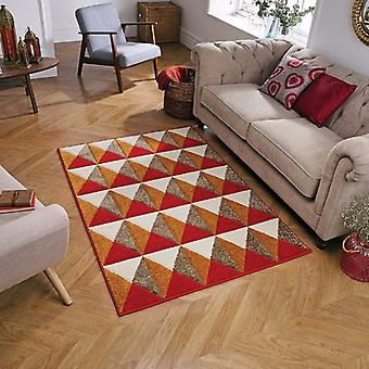 Portland 6994 R Red  Rectangle Rugs Modern Rugs