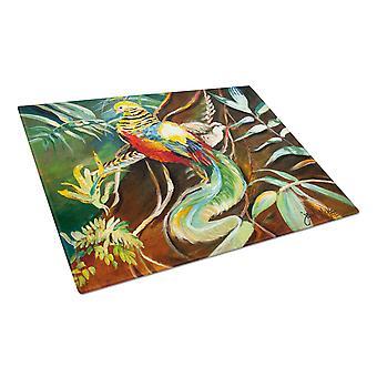Carolines Treasures  JMK1014LCB Mandarin Pheasant Glass Cutting Board Large