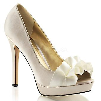 Fabulicious Women's Shoes LUMINA-42 Champagne Satin