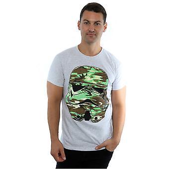 Star Wars mænds Stormtrooper kommando Camo T-Shirt