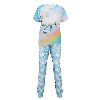 Christmas Shop Womens/Ladies Unicorn Pyjamas